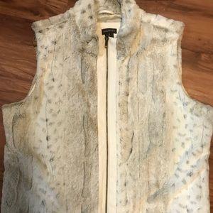 Multiples animal print vest